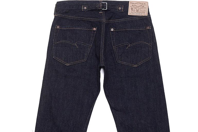 Studio D'Artisan D1672 WWI Model Jeans
