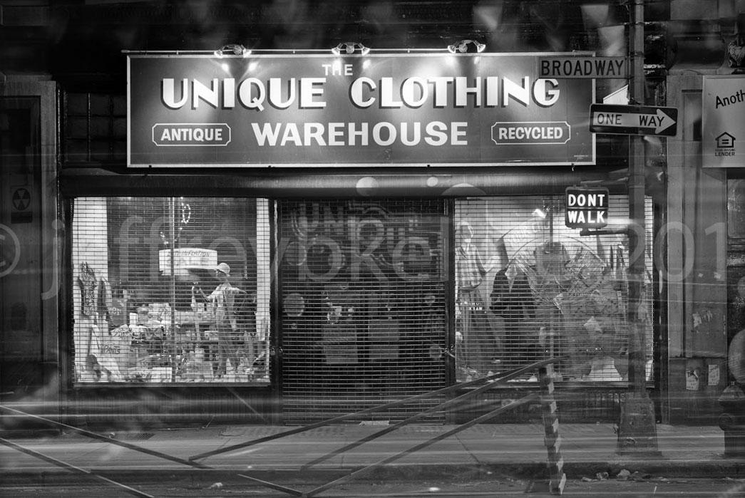 unique clothing warehouse