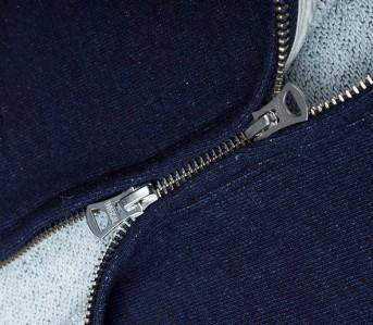 Omnigod loopwheeled hoodie