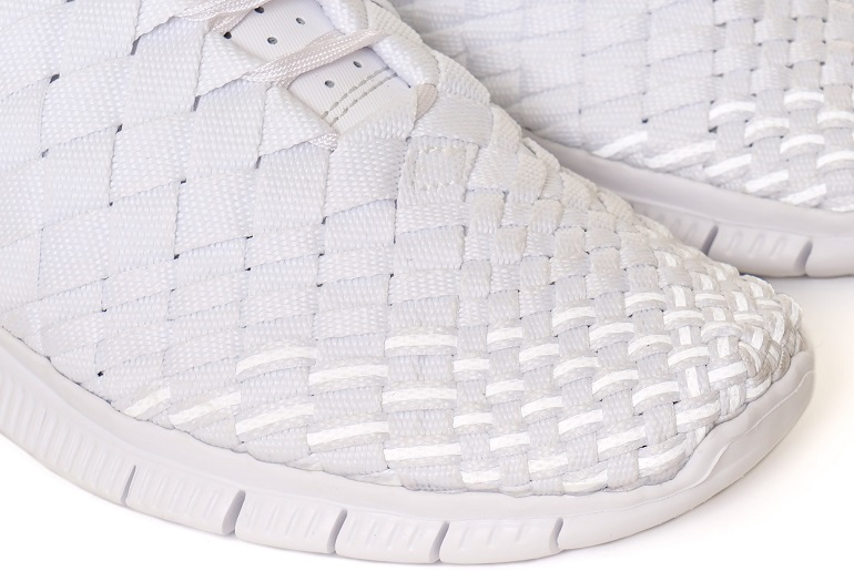White Sole White Sneakers