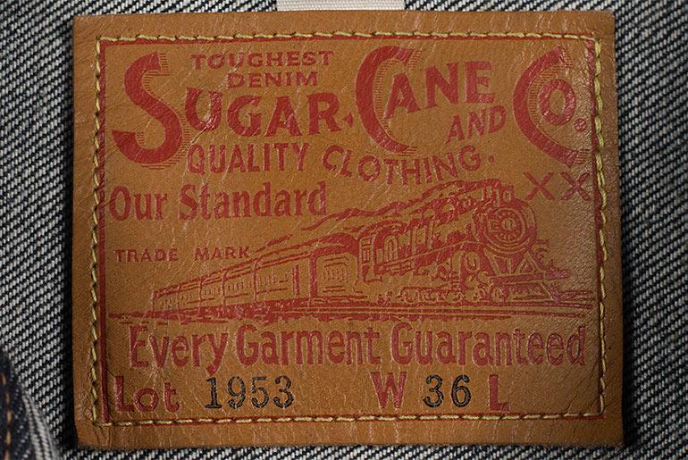 Sugar Cane 1953 Type II Unsanforized Raw Denim Jacket