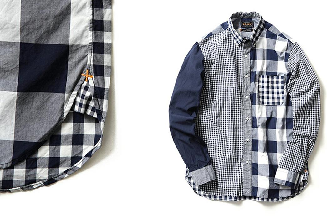Beams-Plus-Autumn-Winter-2015-Lookbook-Shirt
