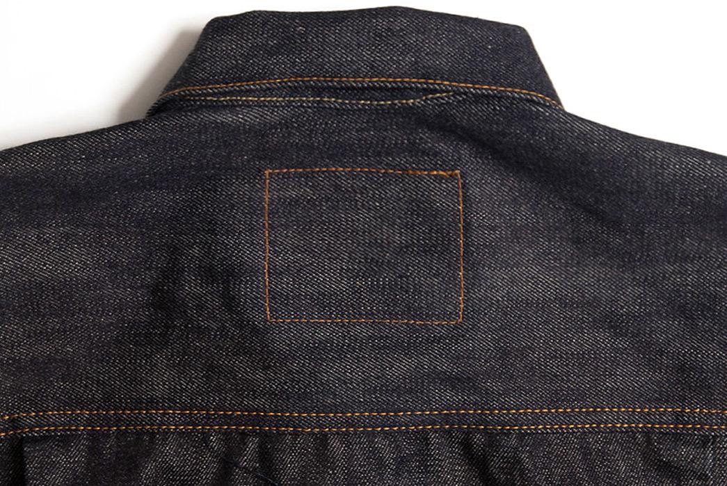 Studio-DArtisan-D4376-Denim-Jacket-back-collar