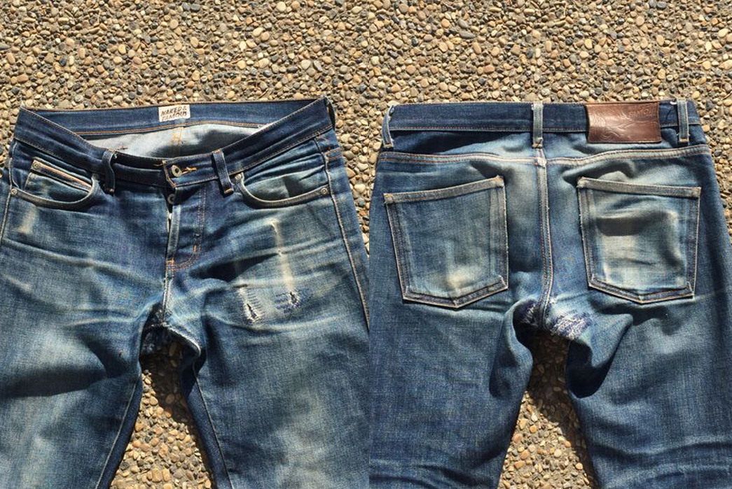 Fade of the Day – Naked & Famous Skinny Guy Dirty Fade (4 Years, 4 Washes)