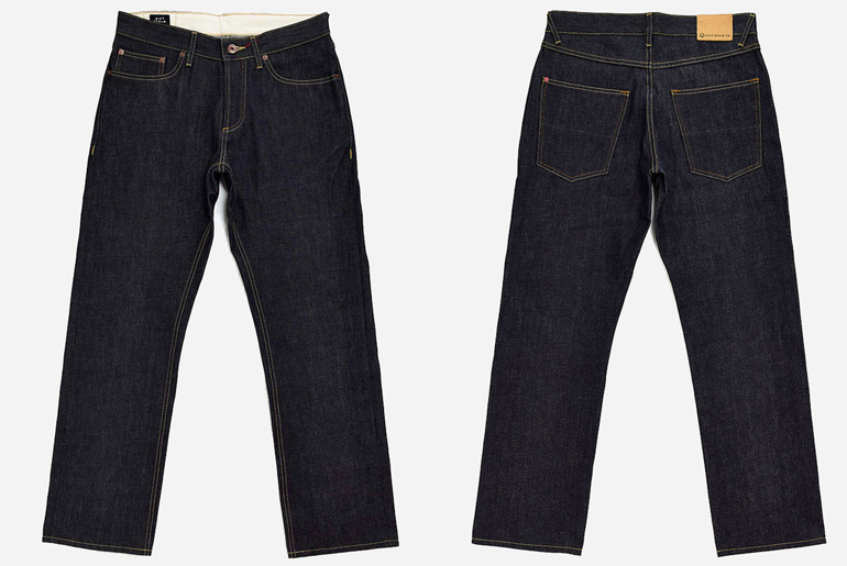 Fade of the Day – Hiut Denim Co. Organic TapR (1 Year, 6 Months, 3 Washes)