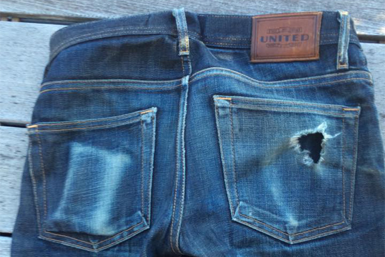Fade of the Day – United Stock Dry Goods Slight (13 Months, 1 Soak)