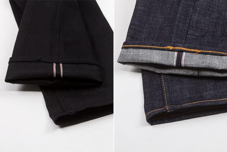 Benzak Denim Developers – Black Black and Heavy Slub Jeans