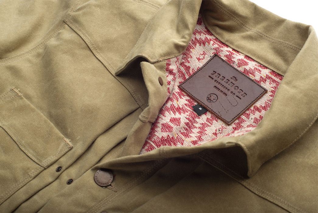Freenote Cloth Waxed Riders Jacket Giveaway