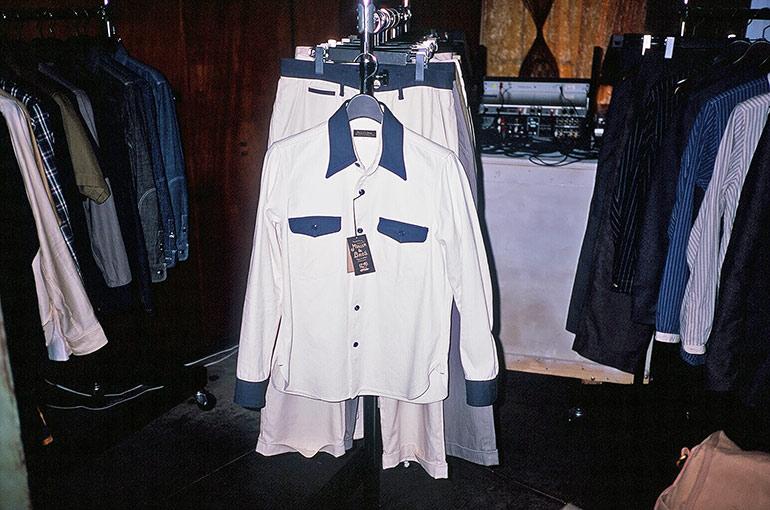 Vintage inspired pump attendant shirt