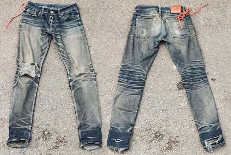 Fade of the Day – Mischief Denim ST-001 (14 months, 2 washes)