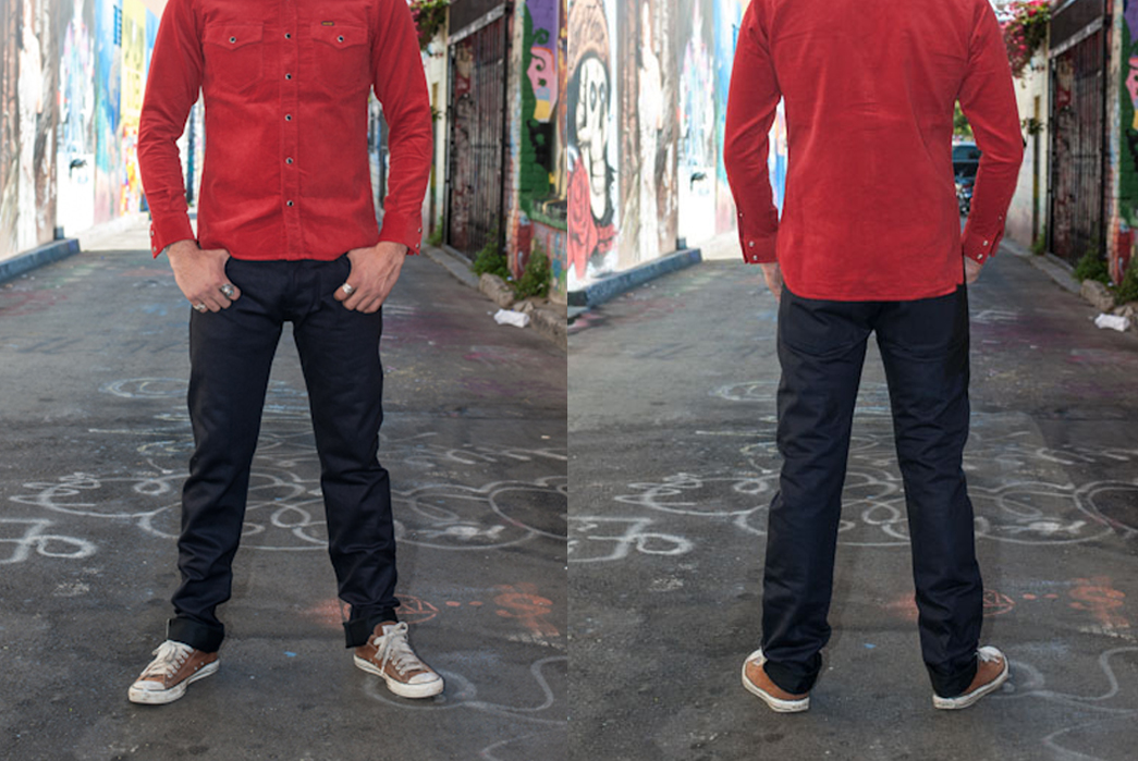 Fade of the Day – 3Sixteen ST-120x (1 Year, 12 Washes)