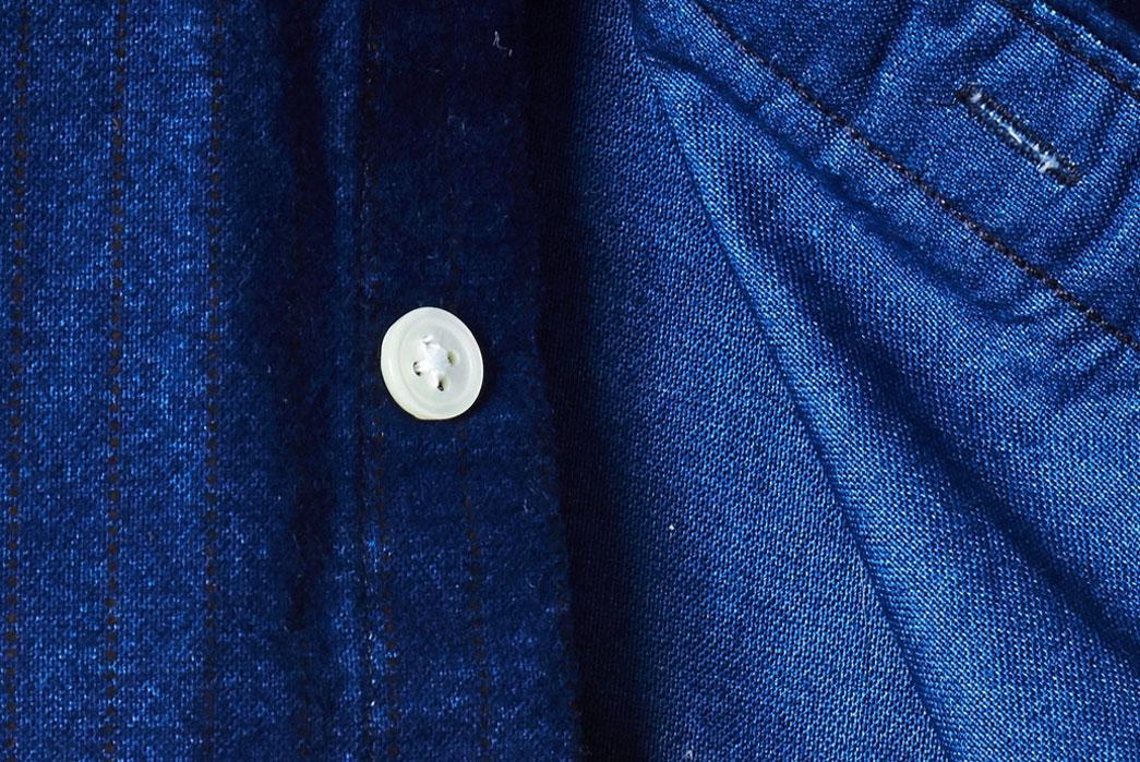 Corridor-Indigo-Railroad-Stripe-Shirt-button