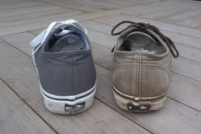 Vans Authentic after 5.5 years - Back