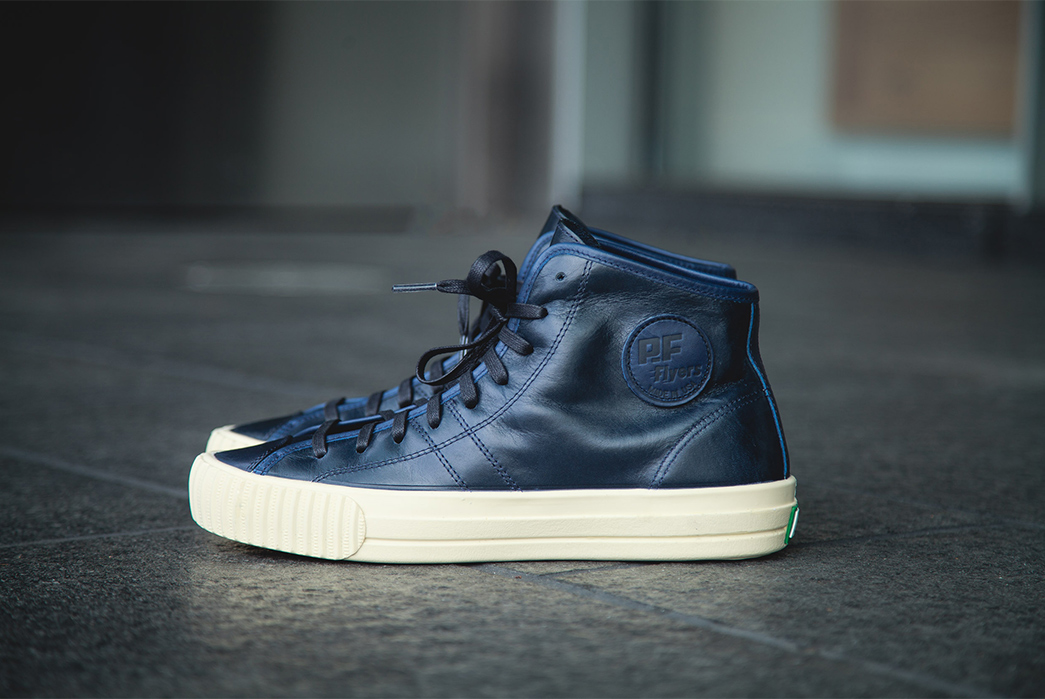 PF Flyers Made in USA Center Hi by Tanner Goods