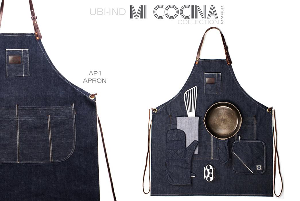 UBI-IND Mi Cocina Denim Kitchen Collection