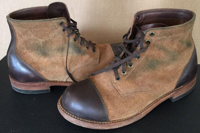 Rising Sun Cadet Boots Left Side