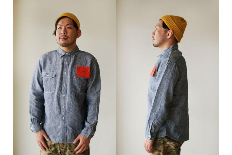 kato' linen shirt