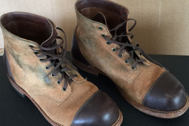 Rising Sun Cadet Boots Right Side