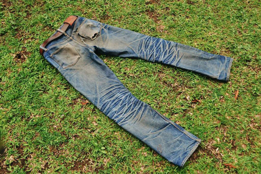 Fade Friday – Old Blue Co. 8.25″ Plain Selvedge Indonesia (11 Months, 1 Wash, 1 Soak)