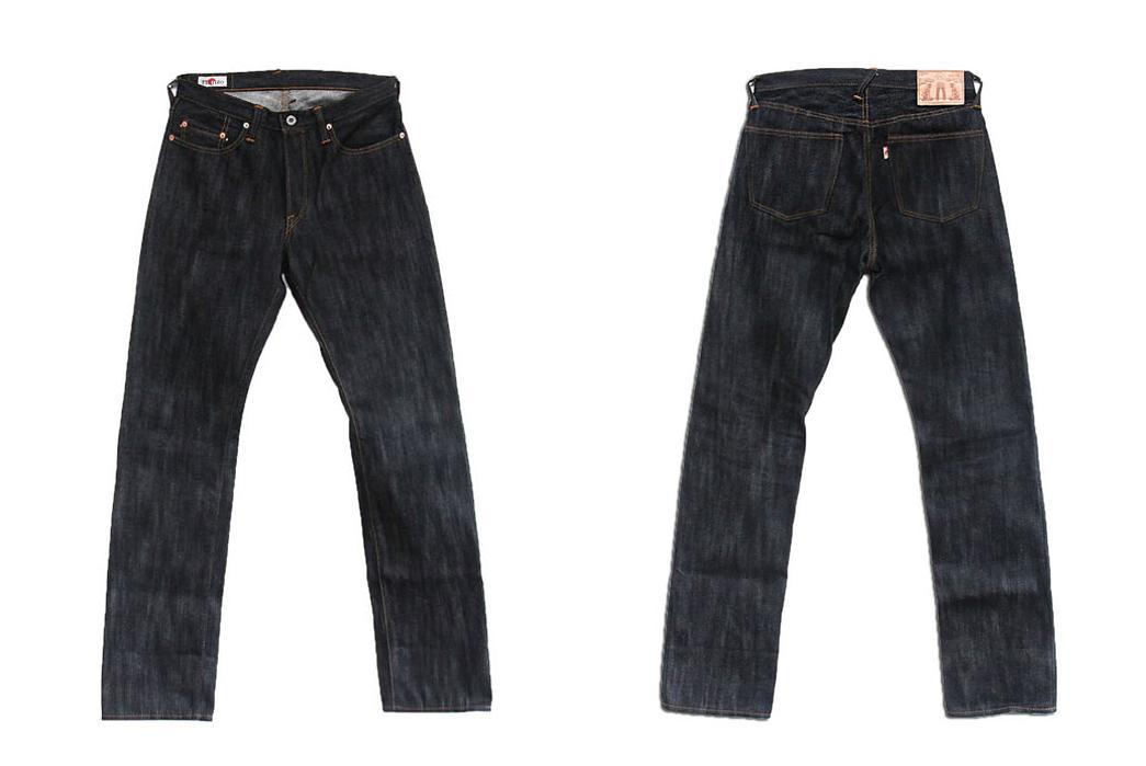 Hanzo The Raid Big Slub Raw Denim Jeans