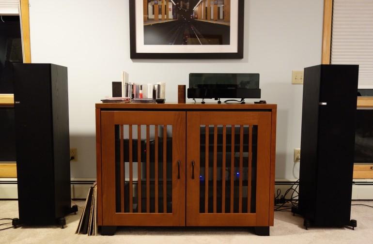 Fig. 2 - A stereo setup