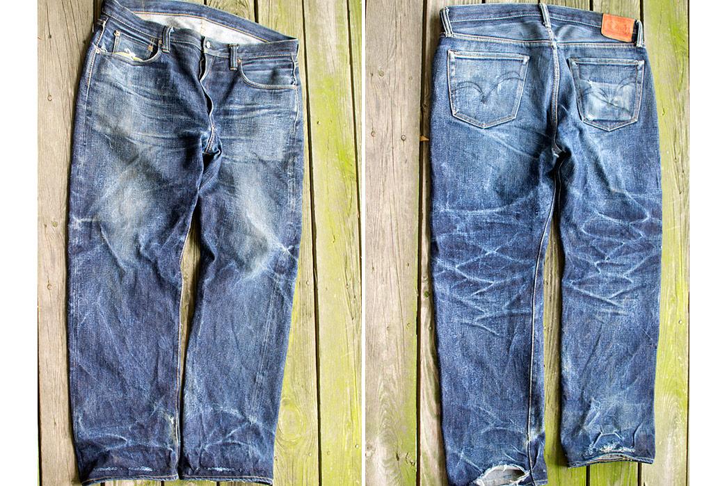 Fade Friday – Samurai Jeans S710xx (29 months, 2 washes, 1 soak)