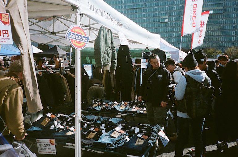 Inazuma Festival Dickies Booth
