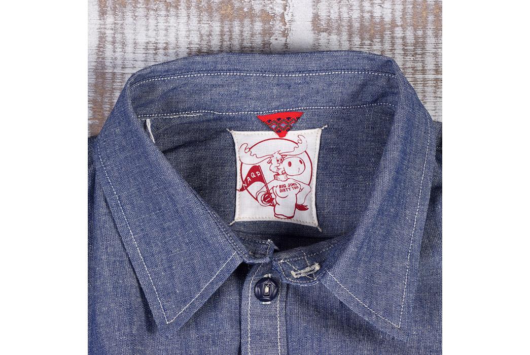 Masterson's x NAQP Big Jim's Dirty Togs Chambray Shirt