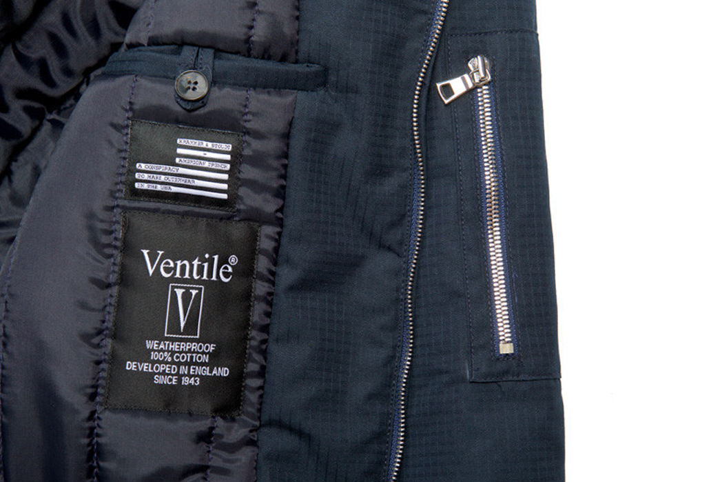 American Trench Ventile Bomber Jackets