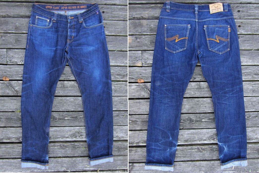 Fade of the Day – Upper Class UC-S3 (8 months, 1 soak, 1 wash)