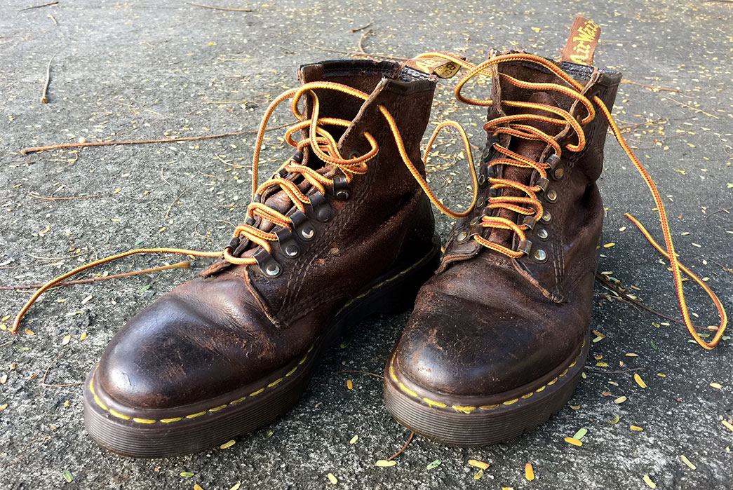 Fade of the Day –  Dr. Martens (19 Years)