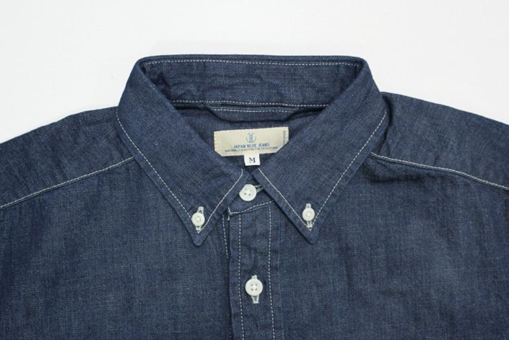 jbj vintage shirt collar