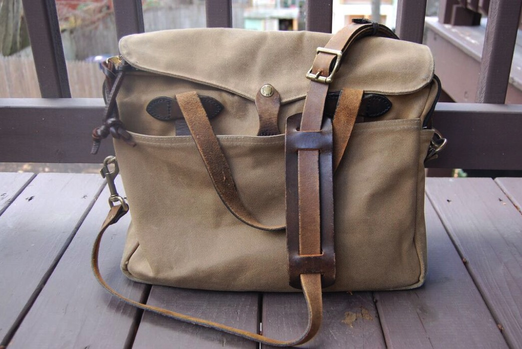 Fade of the Day – Filson Original Briefcase  (18 years)