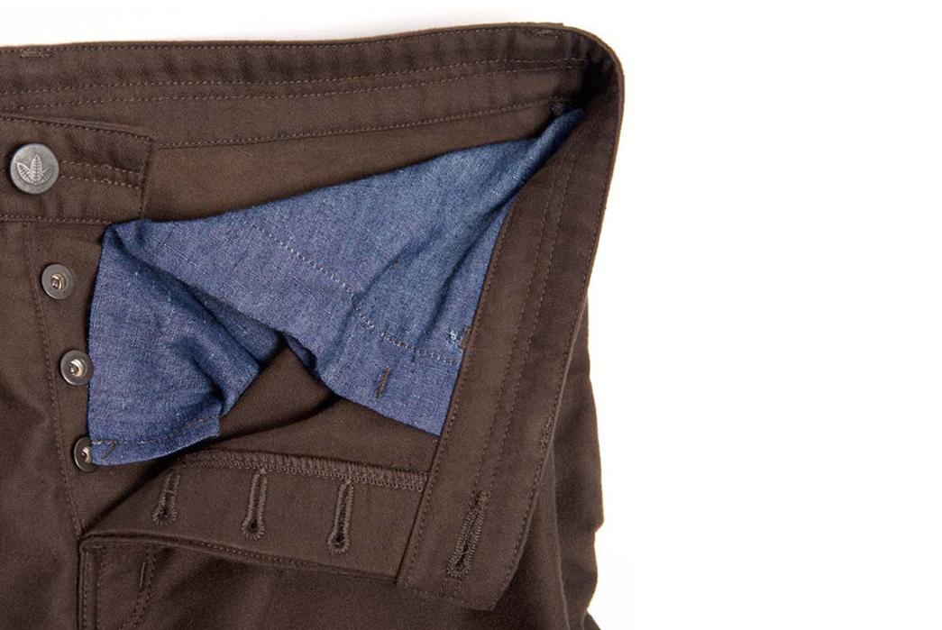 American Trench x Shockoe Atelier Moleskin Jeans