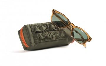 globe specs in tan