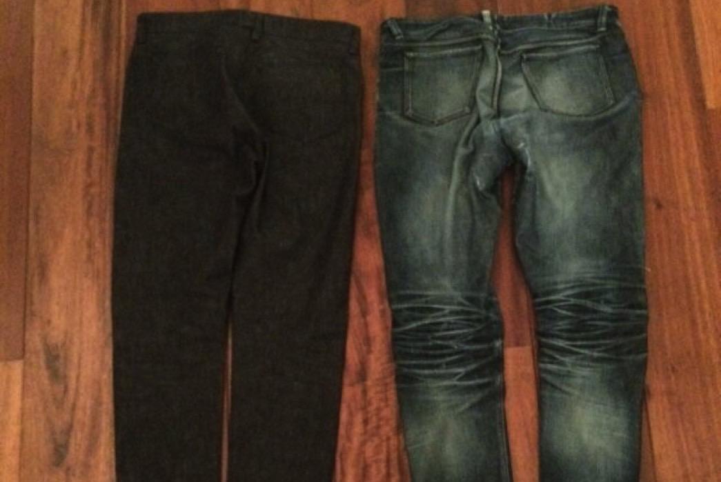 Fade of the Day – Atelier Tossijn Bespoke Jeans (21 Months, 1 Wash, 1 Soak)