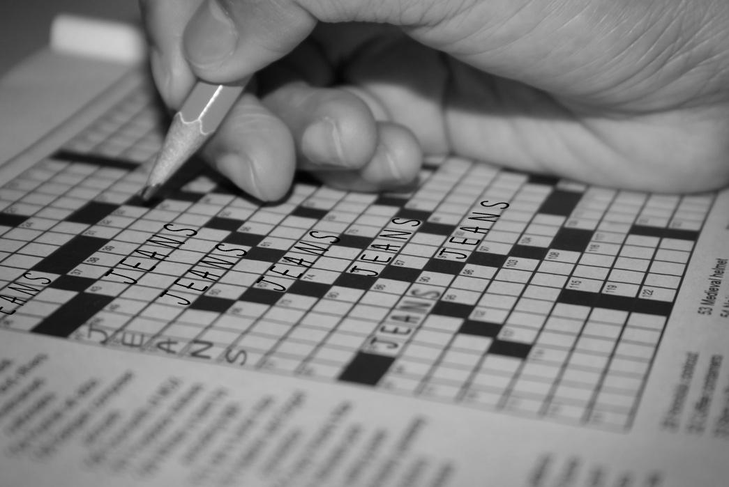 Cross-Stitched – A Denim-Centric Crossword Puzzle