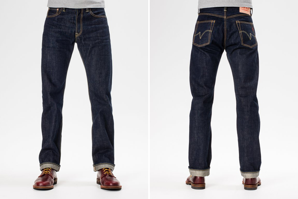 Iron Heart Natural Indigo Jeans