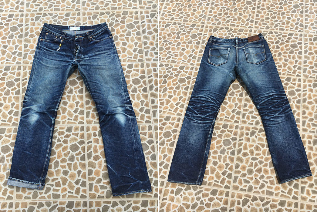 Fade of the Day – Oldblue Co. The Beast (18 Months, Unknown Washes)
