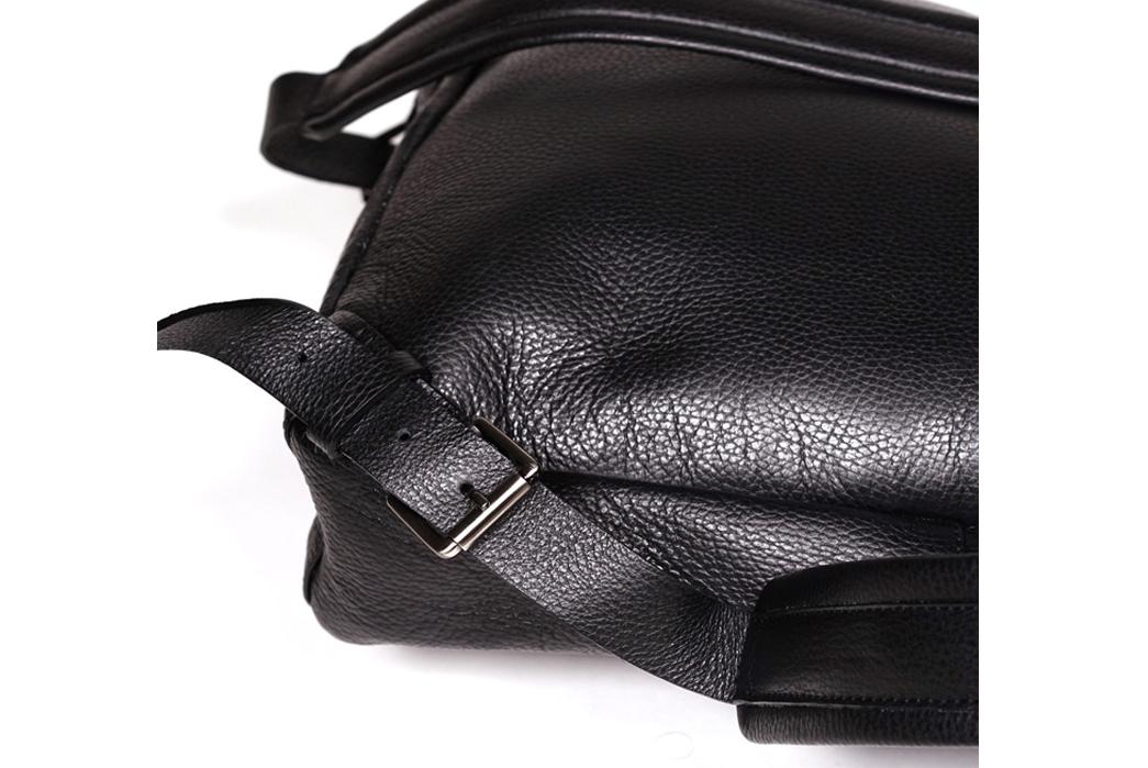 Epaulet Leather Bergen Backpack - Buckle