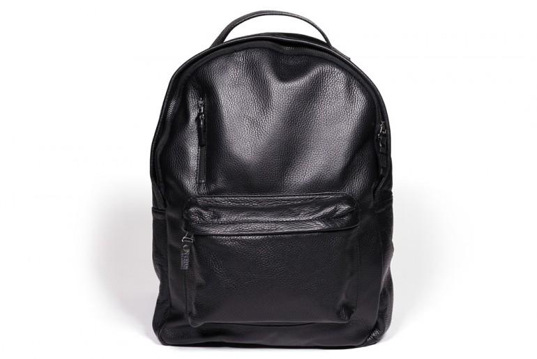 Epaulet Leather Bergen Backpack Main