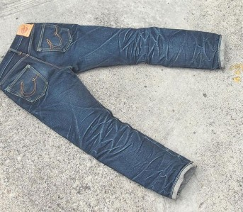 Fade of the Day - Crossover Denim M103 (5 Months) Back