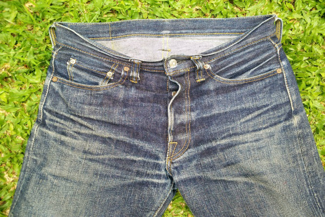 Fade of the Day - Samurai S710xx (1 Year, 2 Washes, 1 Soaks) - Front Top