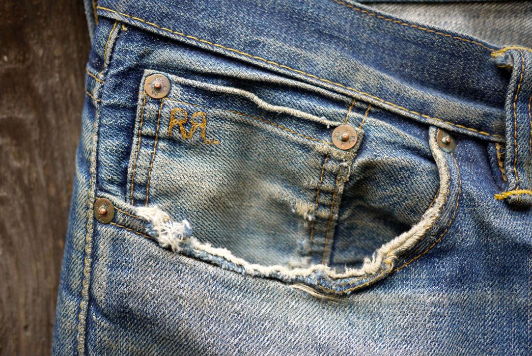 Fade Friday – RRL Slim Fit Rigid (6 Years, 7 Months, 2 Washes, 1 Soak)
