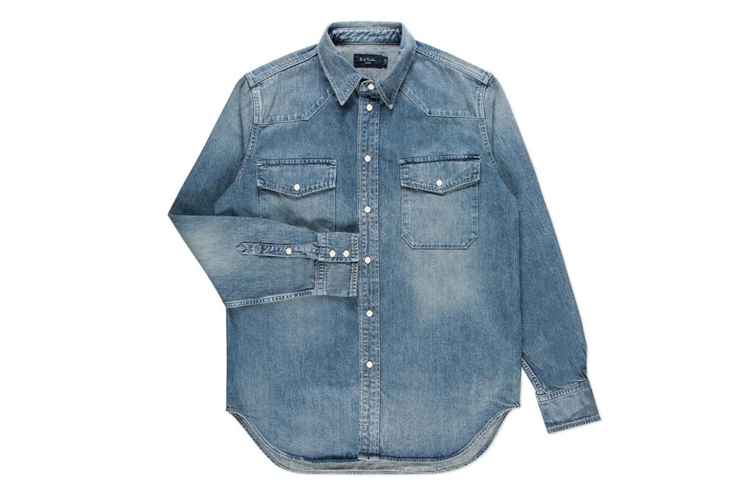 Paul Smith x FULLCOUNT Denim Shirt