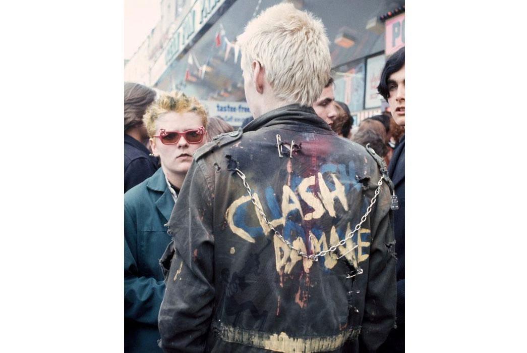 Fig. 4 - Customized Punk Jacket (via Daily Mirror)