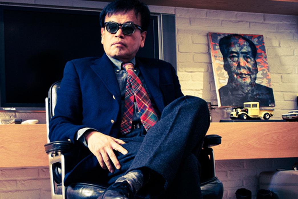 Free & Easy's editor in chief, Mr. Onozawa.