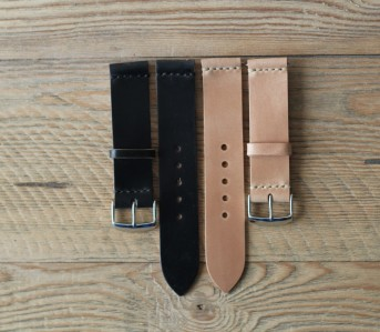 shell cordovan watch band