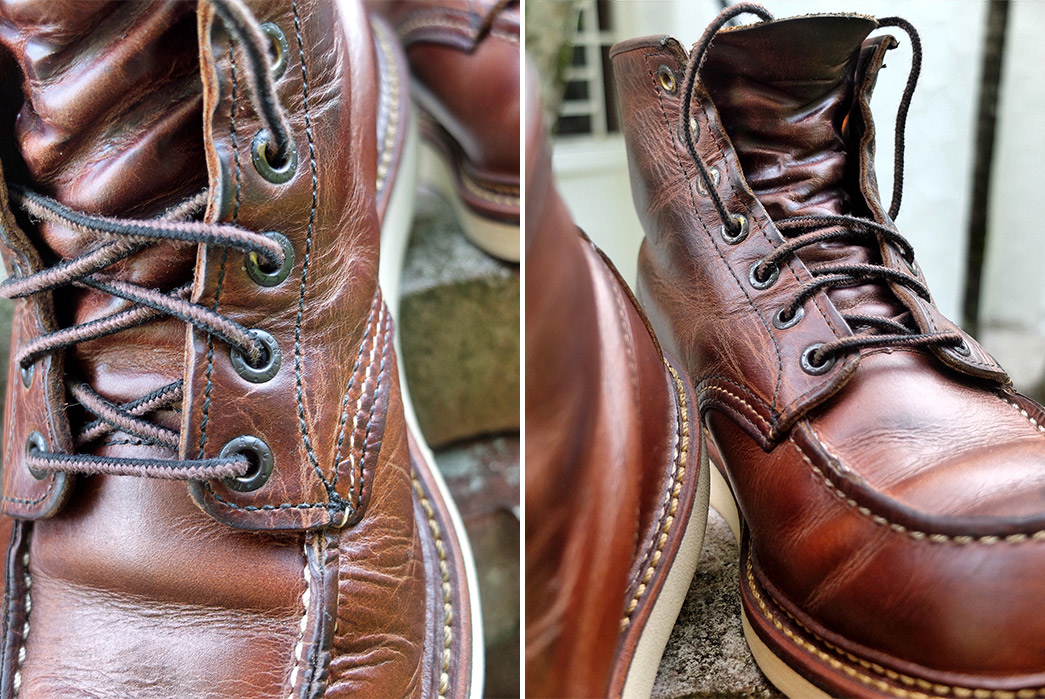 Fade of the Day – Red Wing Heritage 1907 (1 Year)