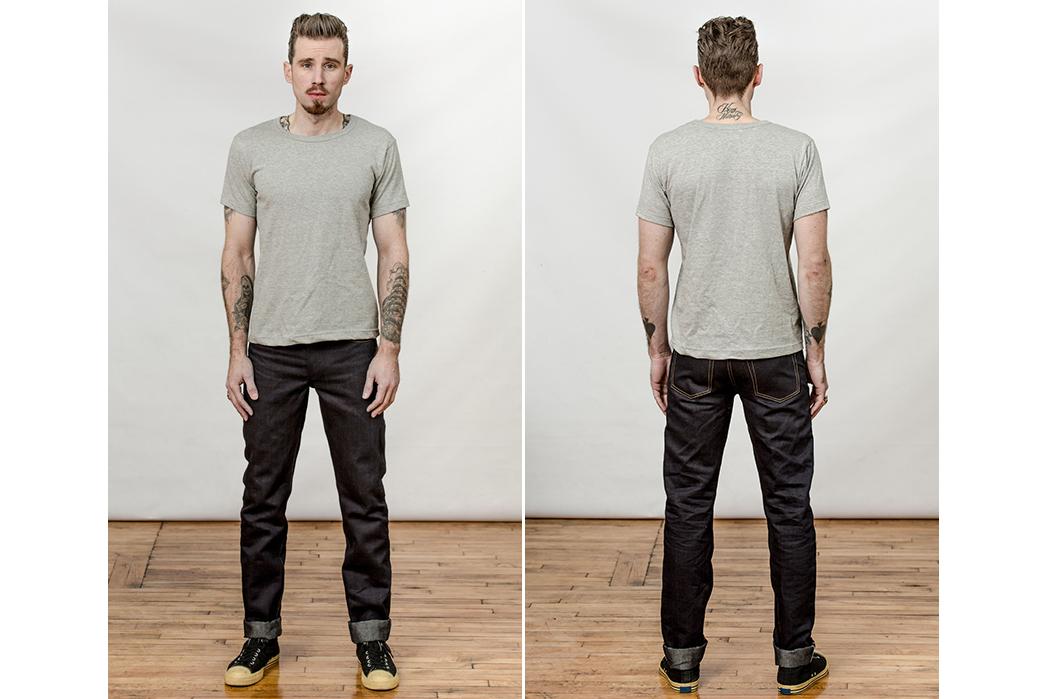 Left Field Italian Linen Blend Jeans